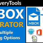 How to Convert MBOX to Outlook PST Files with Astonishing Tool?